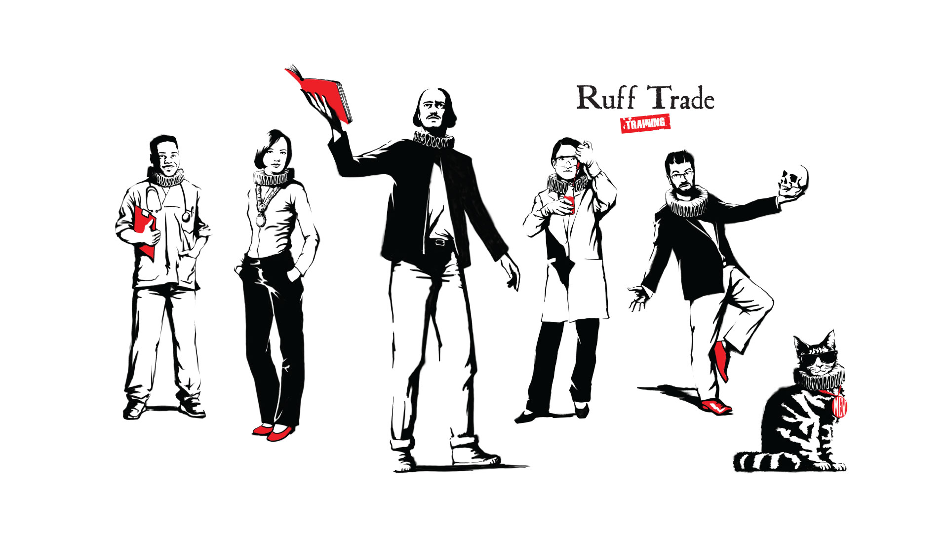 Ruff Trade Training Company Website Branding