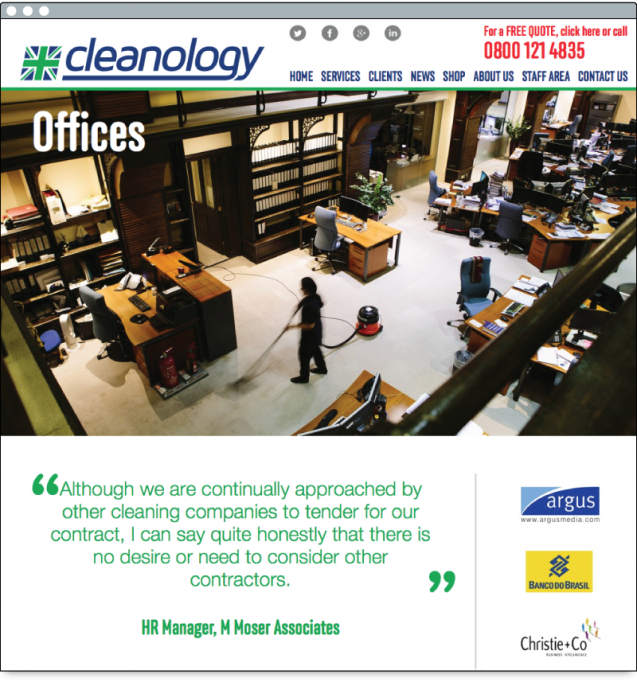 Cleanology.