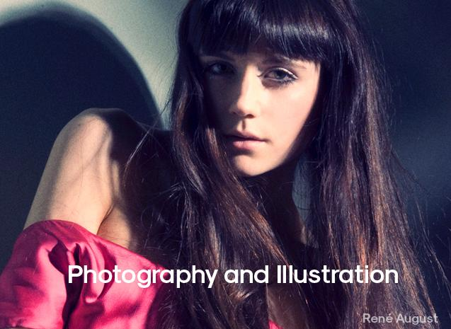 Photography and illustration.