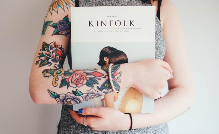 Think print.