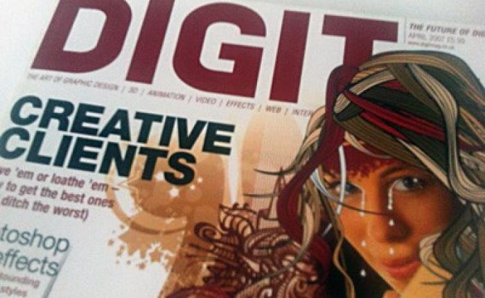 Digit magazine interview with Dean Ford.