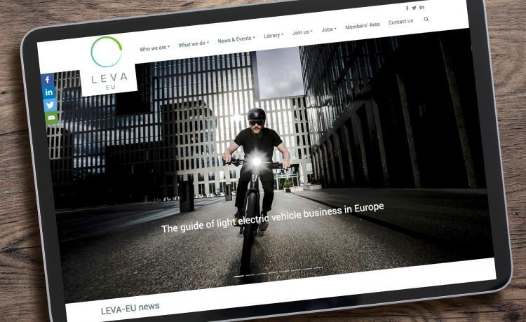 LEVA-EU launch new brand and website.